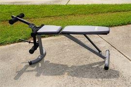 BODY CHAMP Workout Bench