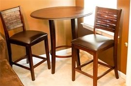 Contemporary Bistro Table Chairs