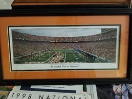 It's Football Time In Tennessee we have 7 framed copies