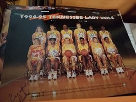 Signed 1994-95 Lady Vols