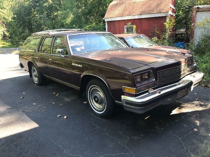 1991 Buick station wagon
