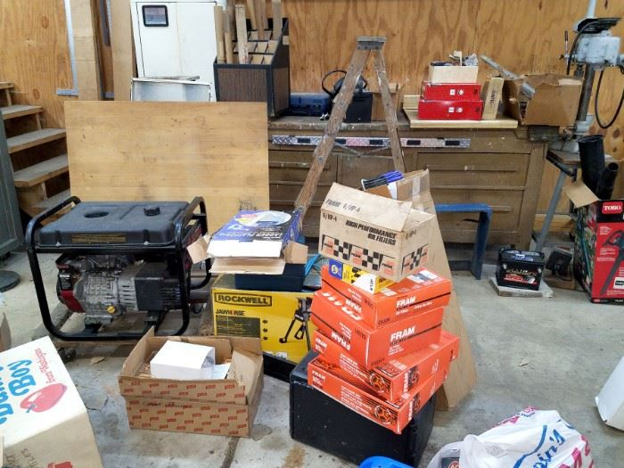 Rockwell Jawhorse. Oil filters, air filters, generator