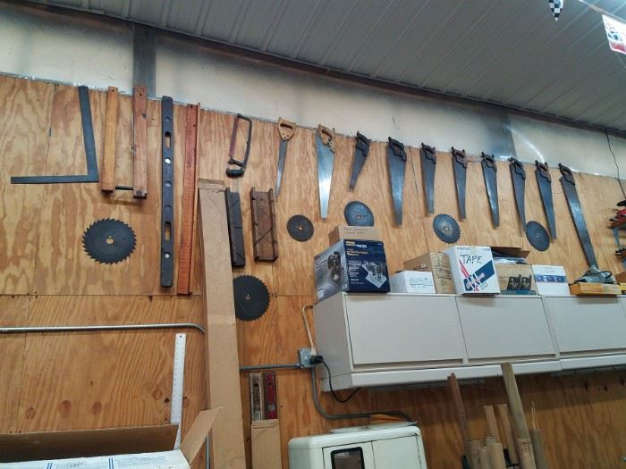 Antique Saws and more