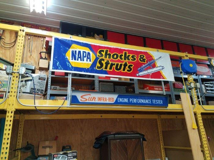 Napa advertising banner