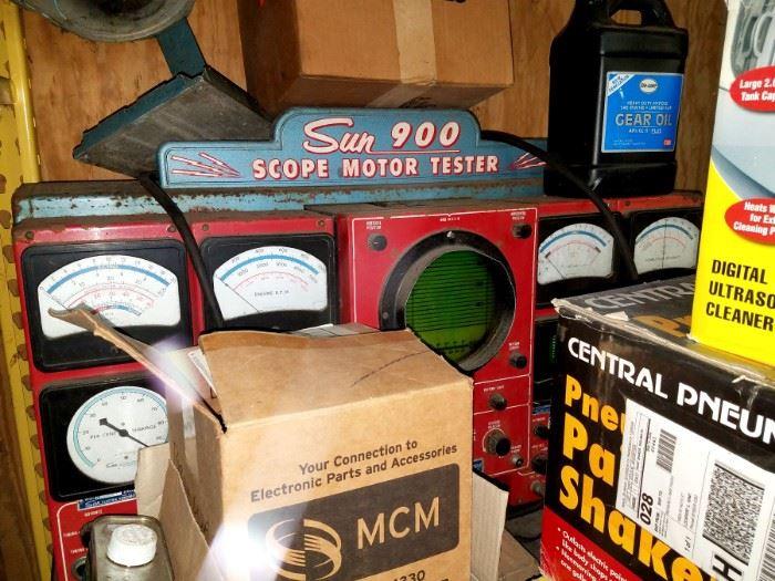 Vintage Sun 900 Scope Motor Tester