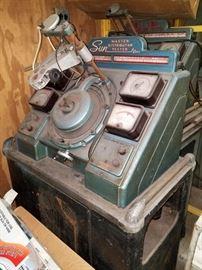 Vintage Sun Master Distributor Testers