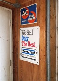 Automotive advertising signage
