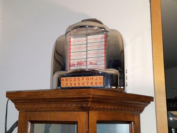 Crosley select-o-matic juke box radio