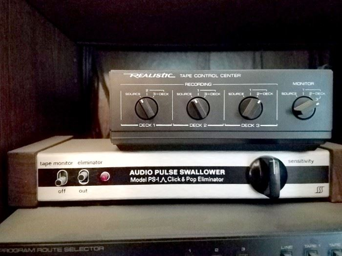 Audio pulse swallower