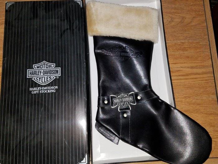 Harley davidson gift stocking