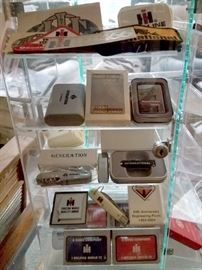 Vintage International Harvester collectibles