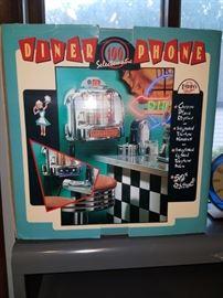 Vintage style juke box phone