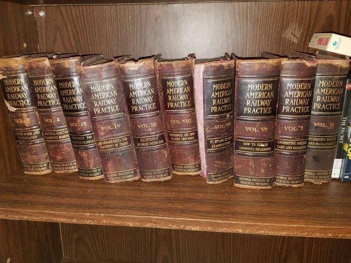 Modern American Railway Practice Volumes