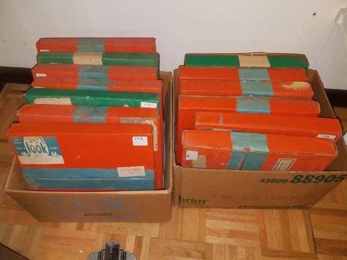 Vintage training records...