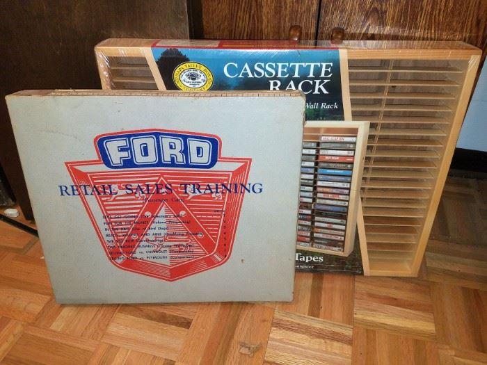 Vintage Ford retail sales training kit