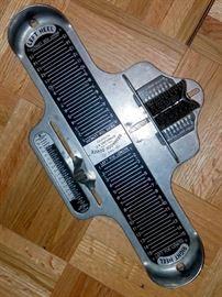 The Brannock Device