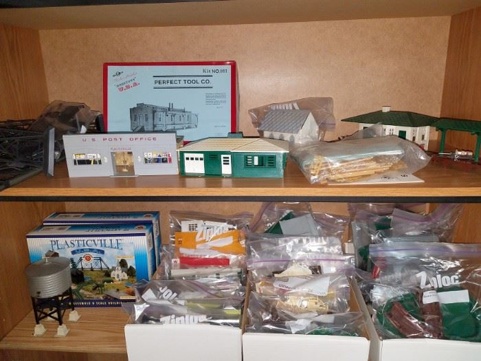 Plasticville  and other train accessories