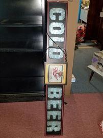 Miller bar sign