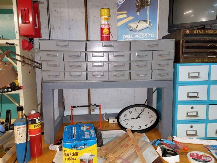 Metal drawer organizer (tools, crafts)