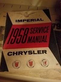 1958 Chrysler ephemera