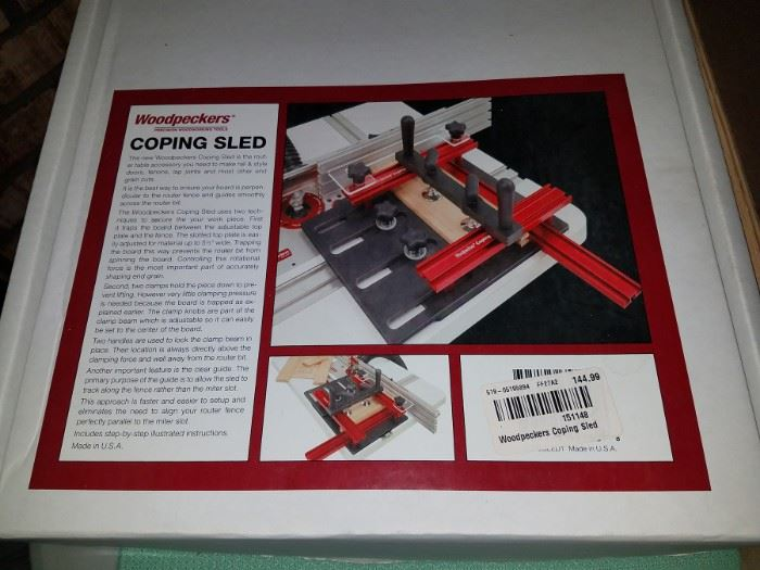 Coping sled