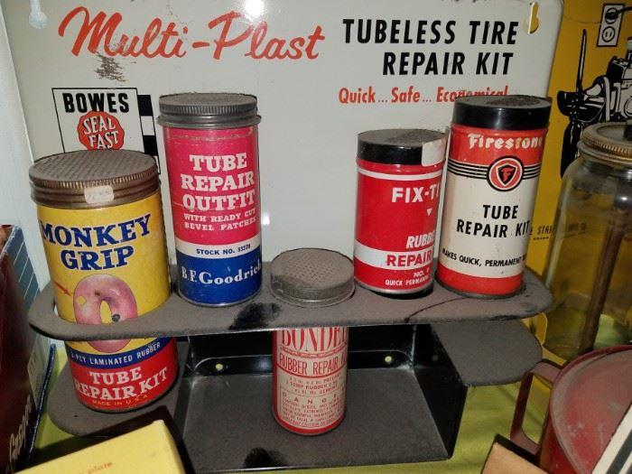 Vintage tube repair kits