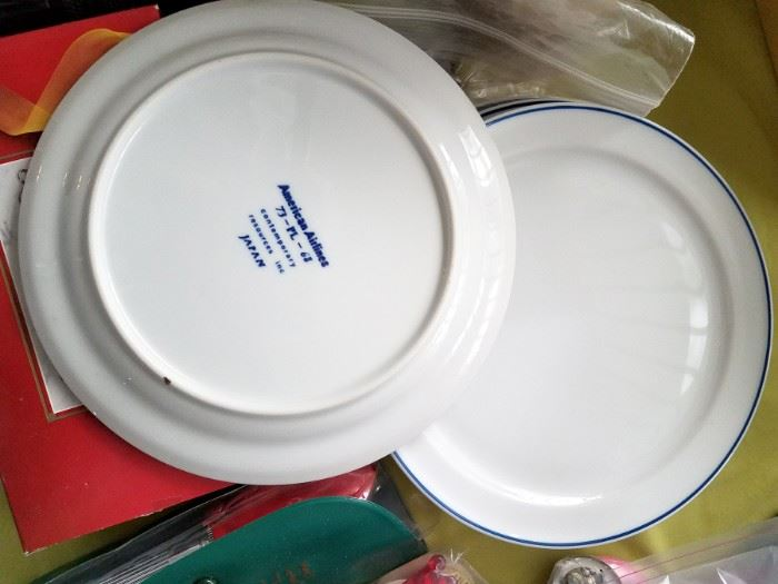 Vintage American Airlines plates