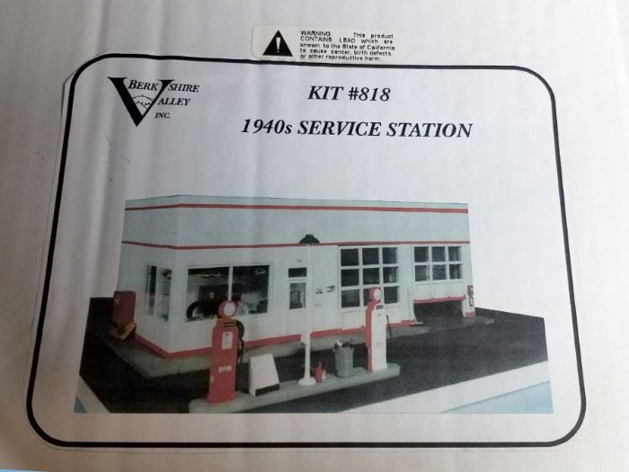 Berkshire Valley service station kit and other kits