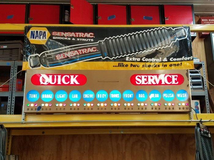 Quick Service light up sign!!!