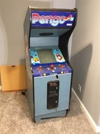 Pengo Video Game by Sega