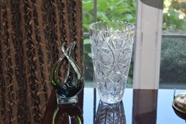 Crystal Vase & Glass Home Decor