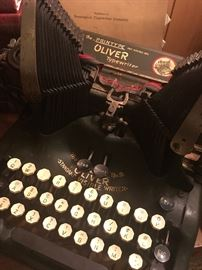 Oliver Typewriter No.9 1917