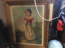 Victorian framed art