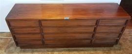 Brown Saltman-John Keal Mid Century Modern dresser                   https://ctbids.com/#!/description/share/47372