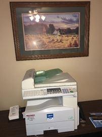 Savon printer fax copier machine