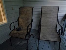 pair of these patio chairs
