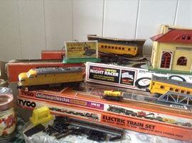 Tyco Train sets