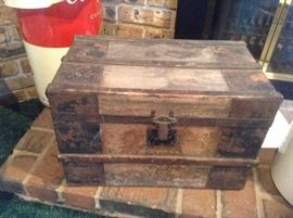 Old doll trunk