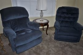 Pair of recliners