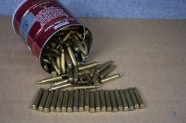 Reloading brass / 7mm Remington Magnum, approx. 100. LOCATION 19