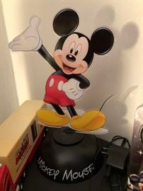Mickey Mouse neon light
