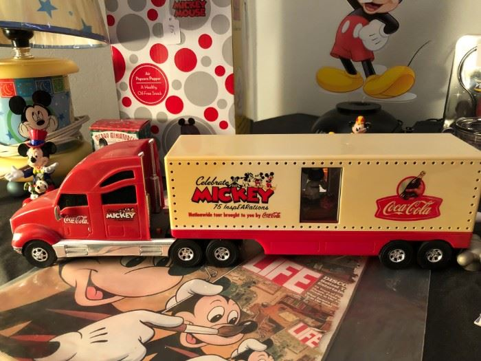 Mickey Mouse collectible truck