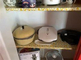 Vintage Club pot, George Foreman grill