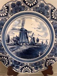 Blue plates