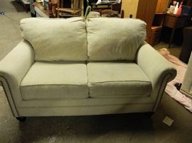 Awesome looking tannish love seat