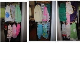Large collection of vintage aprons