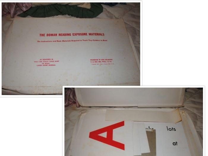 Dorman reading kit copyright 1964