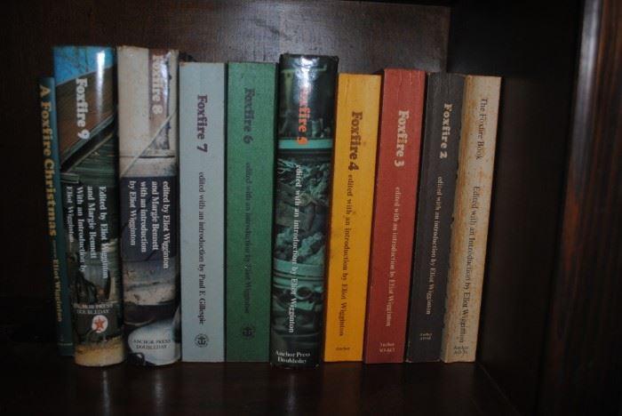 FOXFIRE book Collection - 10 books  1 through 9 and Christmas book