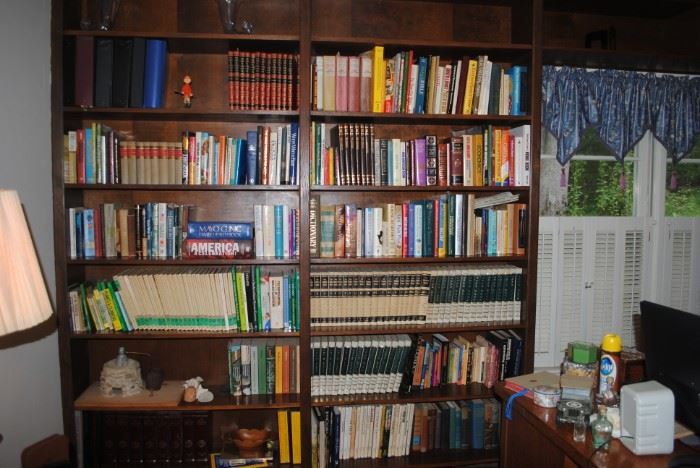 Large Collection of Books - informational, coffee table style as well as fiction