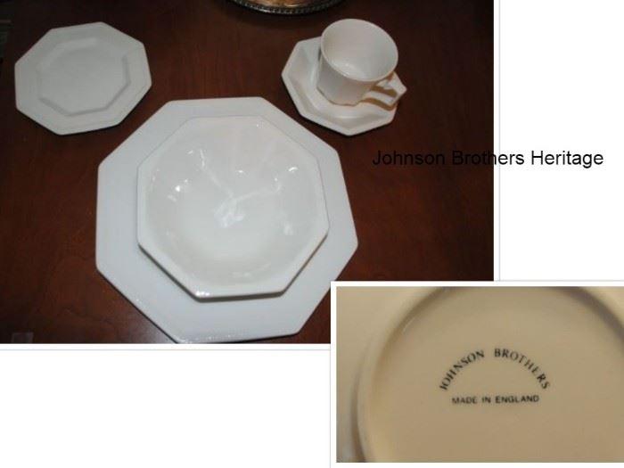 Johnson Brothers Heritage China
